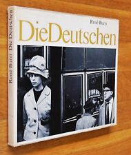 RENE BURRI - DIE DEUTSCHEN - 1962 1ST EDITION WITH DUST JACKET - NICE COPY
