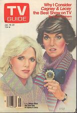TV Guide Magazine January 16-22 1988 Cagney & Lacey 072017nonjhe