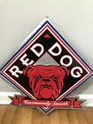 RED DOG Uncommonly Smooth Tin Sign
