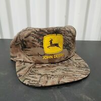 VTG John Deere Duck Camo Snapback Trucker Hat NOS Defects