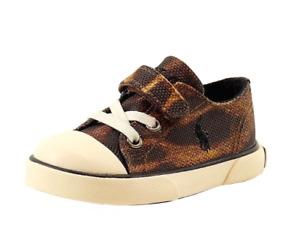 POLO RALPH LAUREN 991414T CARSON EZ Inf`s (M) Ocelot Canvas Lifestyle Shoes