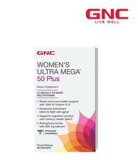 GNC WOMENS ULTRA MEGA 50 Plus Immune Bone Skin Health Support Antioxidant 60caps
