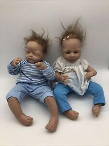 reborn baby Twins Ashton Drake