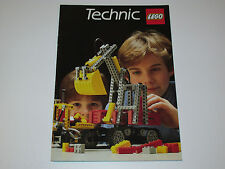 VINTAGE LEGO 1984 CATALOG FOLDER 'TECHNIC' DUTCH
