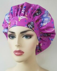 Surgical hats for women Sofia the first bouffant