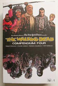 The Walking Dead Compendium 4 *SCRATCH & DENT* Image Graphic Novel Comic Book