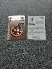 PANINI EURO 2004 NR. 70 BADGE ESPÄNA - SPAIN