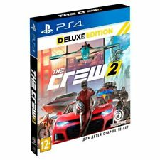 The Crew 2 Deluxe Edition (PS4, 2018) Eng,Russian,German,Italian,French,Spanish