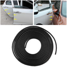 16FT / 5M Black Car Door Edge Protector Strip Scratch Guard Moulding Trim Cover