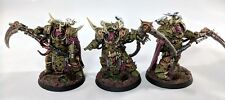 Warhammer 40k Chaos Marines Death Guard Deathshroud Bodyguard Pro Painted