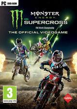 Monster Energy Supercross Motocross (Guida / Racing) PC MILESTONE