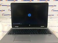 Fast HP ProBook 650 G2 Core i7-6600U 2.6 GHz 8GB DDR4 RAM 256GB SSD