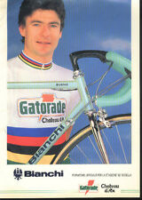GIANNI BUGNO Cyclisme Cycling Ciclismo GATORADE BIANCHI World Champion du Monde