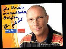 Hans Joachim Schröter MDR Autogrammkarte Original Signiert # BC 73313