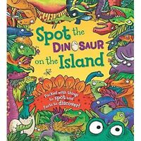 Spot the... Dinosaur on the Island by Maidment, Stella, NEW Book, FREE & Fast De