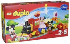 LEGO 10597 DUPLO Mickey and Minnie Birthday Parade Preschool Bldg Toy, 24 pcs