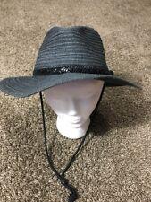 Pistil Grey Charcoal Fedora Tribilly Belted Hat