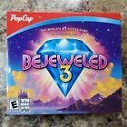 Bejeweled 3 Pop Cap PC Game Rom Fun Puzzle Game Brand New Sealed Windows/Mac