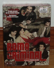 Roma Criminal - Romanzo CRIMINALE-1 No Season COMPLETA-4 Dvd-Sealed-New-New