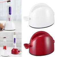 Bathroom Toothpaste Cleanser Squeezer Seat Holder Dispenser Home Supply