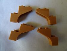 Lego carne oscuro 1 X 3 X 2 X 4 parte 88292 Arco de Ladrillo