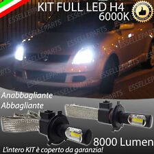 KIT H4 A LED PER SUZUKI SWIFT IV LAMPADE LED H4 6000K XENON BIANCO NO AVARIA