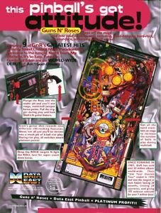 Guns 'N Roses Pinball (DE) - CPU / DISPLAY v3.00 ROM  Upgrade chip set
