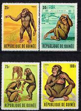 Guinee African Fauna Monkeys Apes set 1967 MNH