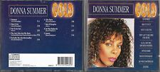 CD 9 TITRES DONNA SUMMER COLLECTION GOLD BEST OF 1995 TBE