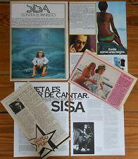 SISA coleccion de prensa 1970s fotos cancion catalana cataluña cantautor revista