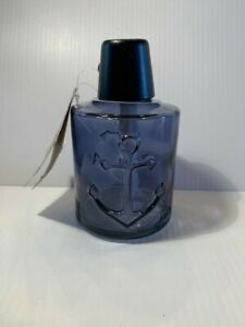 NEW Stand Alone TIKI BRAND Anchor Tabletop Blue Glass Torch  B16
