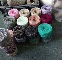 4kg mixed yarn / wool Plys Crochet Knitting joblot clearout TWEED *FREE POST*