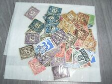 G/B. Collection.Postage dues. singles.unchecked used.see scan.