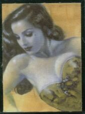 "OLIVIA De BERARDINIS METAMORPHOSIS (Comic Images/2002) ""CANVAS"" BOX TOPPER CARD"