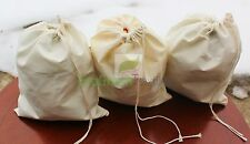 6x10 inch Cotton Muslin Bags * EXCELLENT QUALITY*  Quantity- 100