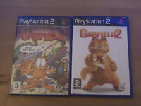 Garfield 1 & 2 bundle Sony PS2 Playstation 2 complete with manual. 2 games