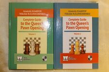 2 Russian Chess Books: Karpov, Kalinichenko.Complete Guide to the Quin's Pawn Op