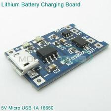 2 Pz Micro Usb Circuito TP4056 PCB ricarica 3,6V 18650 litio +protezione Posta1