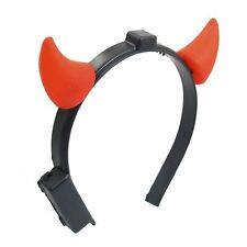 Halloween Costume Red LED Light Ladies Devil Horns Headband LW
