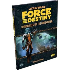 Star Wars RPG: Force and Destiny Chronicles of the equipo selector edición inglesa