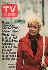 1974 TV Guide June 8 - Marilyn Baker-Hearst Kidnapping; Columbo; John Davidson
