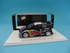 FORD FIESTA RS WRC #1 - OGIER - 1st RALLY MONTE CARLO 2018  1/43 NEW SPARK S5951