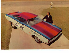 1968 HEMI CHARGER FUNNY CAR - ROGER LINDAMOOD ~ ORIGINAL 5-PAGE ARTICLE / AD
