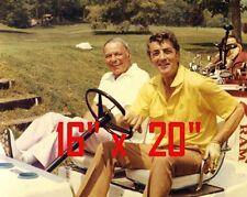 "Frank Sinatra~Dean Martin~Poster~Golf~16"" x 20"" Photo"