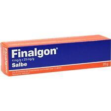 FINALGON 4 mg/g + 25 mg/g Salbe     20 g     PZN 145750