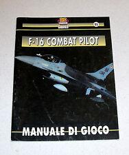 MANUALE Gioco Pc F-16 COMBAT PILOT - Simulmondo Super Games 1992