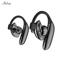 NEW Original AMINY U-two True Earbuds bluetooth Headset sweatproof Mic SIRI aptx