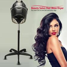 Salon Standing Hair Blow Dryer Bonnet Hood Rolling Stand Hair dryer Timer F0K5