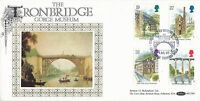 4 JULY 1989 INDUSTRIAL ARCHAEOLOGY BENHAM BLCS 43 FIRST DAY COVER TELFORD SHS a