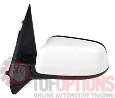 Ford SZ Territory LH STD & Temp Door Mirror - WINTER WHITE 2004-2016 - 5 Pin